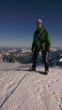 Summit of Aiguille d'Argentiere.
