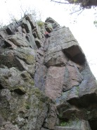 """Myself leading the 1st pitch of the """"Central Groove"""" (HS, 4b)"""