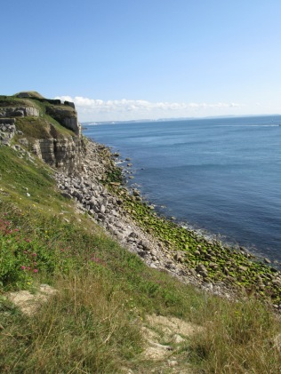 Cliffs in Portland, Dorset