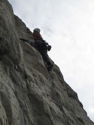 Sports climbing in Portland, Dorset
