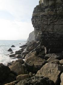 Boulder Ruckle near Swanage, Dorset