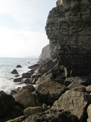 Boulder Ruckle near Swanage, Dorset