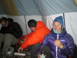 Base camp party