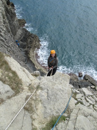 Sole abseiling