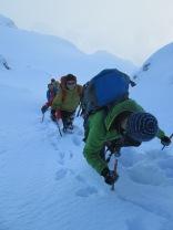 Winter walking in Fagaras Mountains