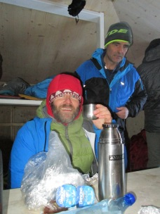 Never go on a mountain without Palinka!